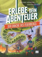 Cover-Bild Der Drache des Feuerbergs (Rätselabenteuer für Kinder ab 8 Jahren, Spielebuch, stundenlanger Rätselspaß))