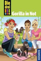 Cover-Bild Die drei !!!, 58, Gorilla in Not