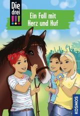 Cover-Bild Die drei !!!, 85, Ein Fall mit Herz und Huf