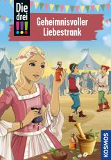 Cover-Bild Die drei !!!, 87, Geheimnisvoller Liebestrank