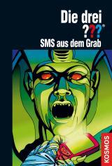 Cover-Bild Die drei ???, SMS aus dem Grab (drei Fragezeichen)