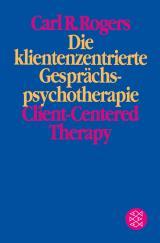 Cover-Bild Die klientenzentrierte Gesprächspsychotherapie