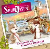 Cover-Bild Die Spürhasen-Bande - Folge 3: In den Fängen der gemeinen Tierdiebe