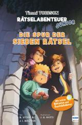 Cover-Bild Die Spur der sieben Rätsel - Das erste Timmi Tobbson Rätselabenteuer Junior