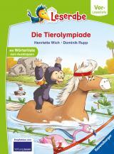 Cover-Bild Die Tierolympiade - Leserabe ab Vorschule - Erstlesebuch für Kinder ab 5 Jahren