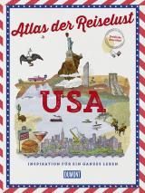 Cover-Bild DuMont Bildband Atlas der Reiselust USA