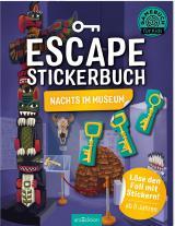 Cover-Bild Escape-Stickerbuch - Nachts im Museum
