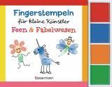 Cover-Bild Fingerstempeln für kleine Künstler-Set - Feen und Fabelwesen