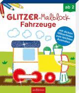 Cover-Bild Glitzer-Malblock Fahrzeuge