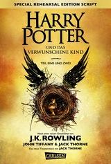 Cover-Bild Harry Potter und das verwunschene Kind. Teil eins und zwei (Special Rehearsal Edition Script)