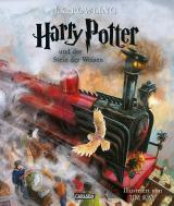 Cover-Bild Harry Potter und der Stein der Weisen (farbig illustrierte Schmuckausgabe) (Harry Potter 1)