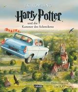 Cover-Bild Harry Potter und die Kammer des Schreckens (vierfarbig illustrierte Schmuckausgabe) (Harry Potter 2)
