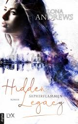 Cover-Bild Hidden Legacy - Saphirflammen