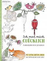 Cover-Bild Ich mal mich glücklich: Malbuch für Erwachsene