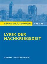 Cover-Bild Lyrik der Nachkriegszeit (1945-60).
