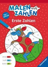 Cover-Bild Malen nach Zahlen, Vorschule: Erste Zahlen