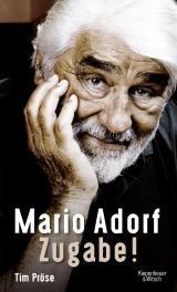 Cover-Bild Mario Adorf. Zugabe!