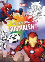 Cover-Bild Marvel Helden zum Ausmalen