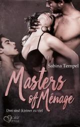 Cover-Bild Masters of Ménage: Drei sind (k)einer zu viel