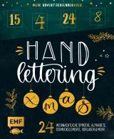 Cover-Bild Mein Adventskalender-Buch: Handlettering X-Mas!
