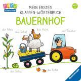 Cover-Bild Mein erstes Klappen-Wörterbuch: Bauernhof