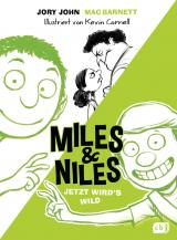 Cover-Bild Miles & Niles - Jetzt wird's wild