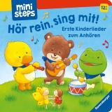 Cover-Bild ministeps: Hör rein, sing mit! Erste Kinderlieder zum Anhören.