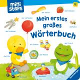 Cover-Bild ministeps: Mein erstes großes Wörterbuch