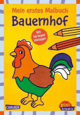 Cover-Bild Pixi kreativ 118: Mein erstes Malbuch mit farbigen Vorlagen: Bauernhof