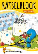 Cover-Bild Rätselblock ab 10 Jahre, Band 1