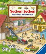 Cover-Bild Sachen suchen: Auf dem Bauernhof – Wimmelbuch ab 2 Jahren