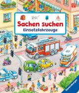 Cover-Bild Sachen suchen: Einsatzfahrzeuge