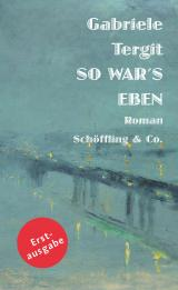 Cover-Bild So war's eben