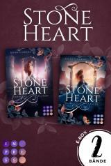 """Cover-Bild Stoneheart: Sammelband der mystisch-rauen Fantasy-Buchserie """"Stoneheart"""""""