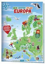 Cover-Bild Trötsch Stickerbuch Mein erster Atlas Europa