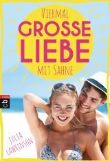 Cover-Bild Viermal große Liebe mit Sahne