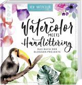 Cover-Bild Watercolor meets Handlettering