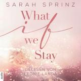 Cover-Bild What if we Stay