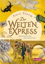 Cover-Bild Zwischen Licht und Schatten (Der Welten-Express 2)