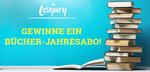 Gewinnt das große Bücher-Jahresabo