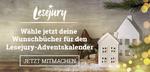 Stimme jetzt für deine Adventskalender-Wunschbücher ab!